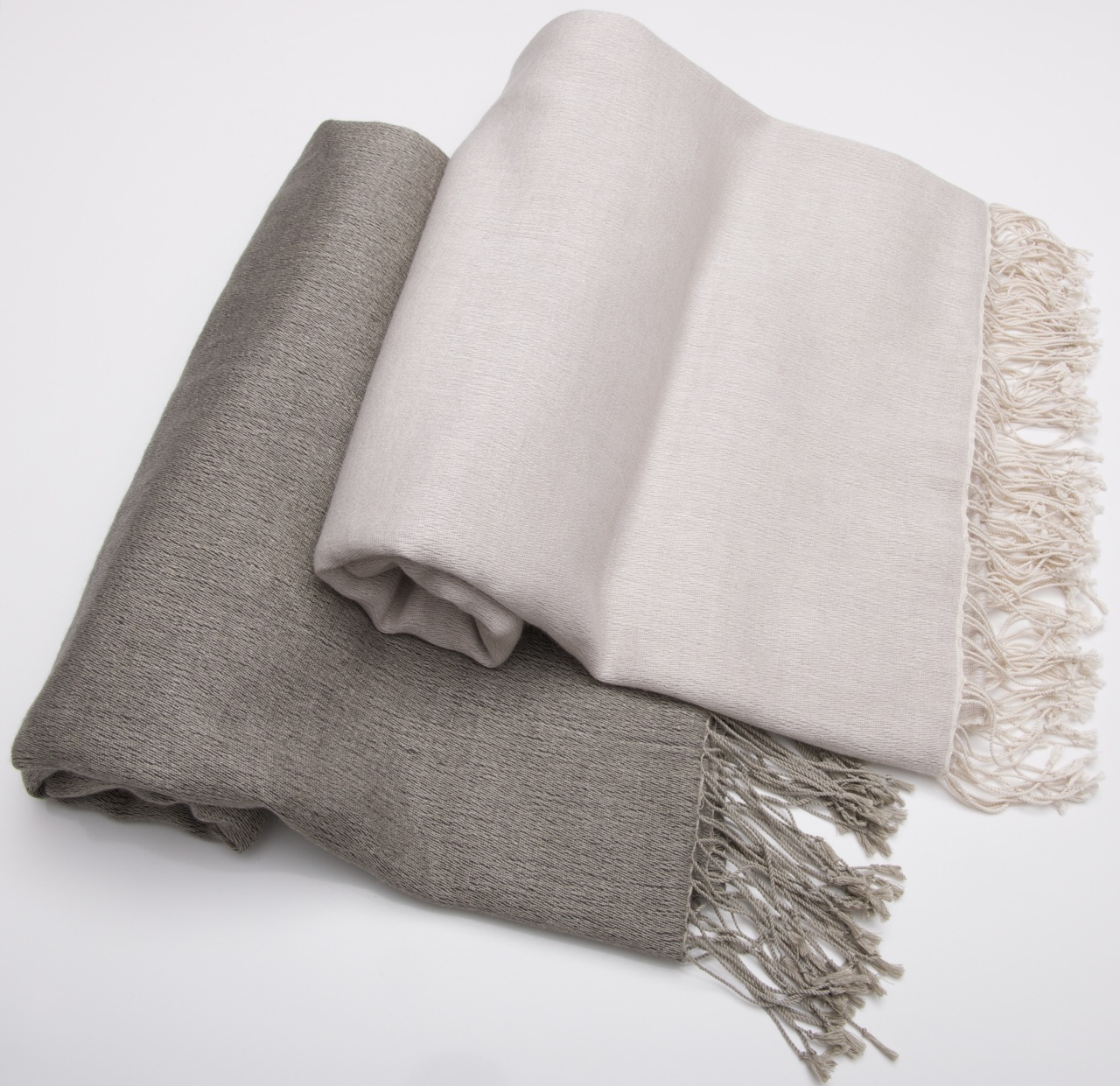 Double ply pashmina throw (made to order), extra large shawl or throw.
