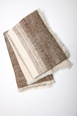 super soft yak and cotton blanket, natural, ethical and affordable.