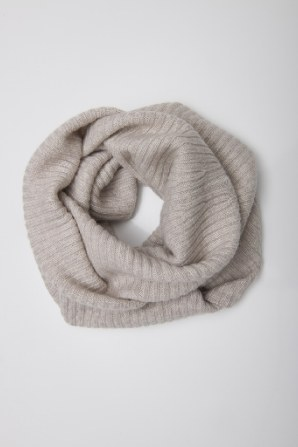 extra wide snood to cover shoulder if desired