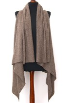 versatile dense knit wrap with no sleeves